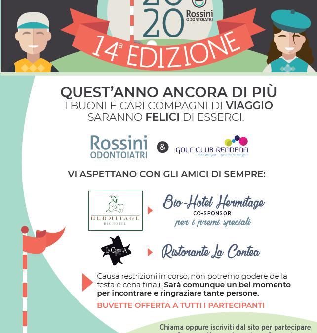 14° Rossini Odontoiatri Golf Cup – 18 Agosto 2020