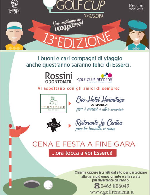 13° Rossini Odontoiatri Golf Cup