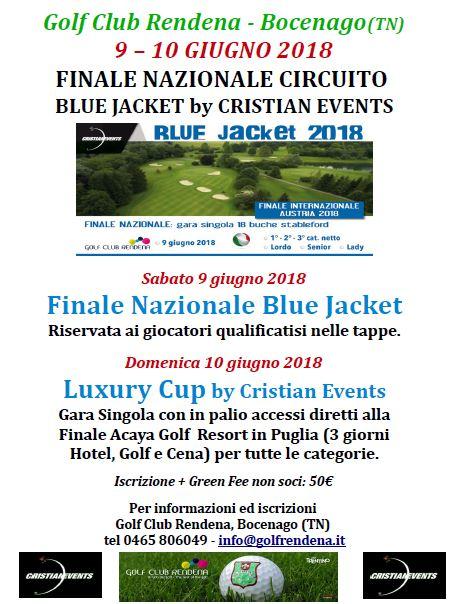 9 Giugno 2018 – Finale Nazionale Blue Jacket