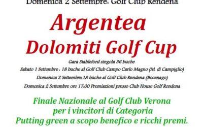 ARGENTEA – Dolomiti Golf Cup  Sabato 1 e Domenica 2 settembre